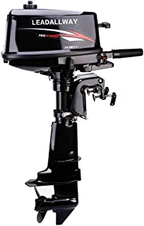 LEADALLWAY T6.0HP 2 Stroke Water Cooled Outboard Motors Fishing Boat Power Engine