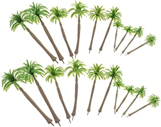 Blesiya 1/50 1/75 Green Coconut Miniatures Layout Tree Models for Warhammer Diorama
