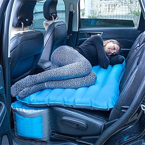 HFDDF Cama DE Viaje DE Coches, Accesorios SUV Pareja Temporada 12 cm Espesor Viaje al Aire Libre Camping Inflable Colchón Viajes de despido