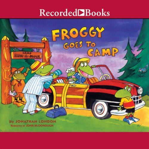 Froggy Goes to Camp cover art