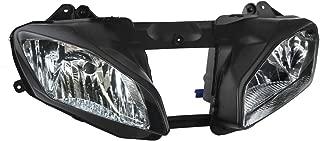 TCMT Black Front Headlight Head Light Lamp Fits For Yamaha YZF-R6 YZF R6 2008-2016