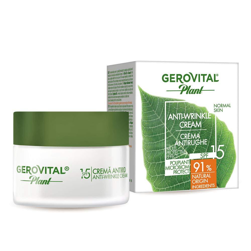 Direct store GEROVITAL PLANT ANTI-WRINKLE CREAM SPF15 ml fl.oz. New Free Shipping 50 1.69