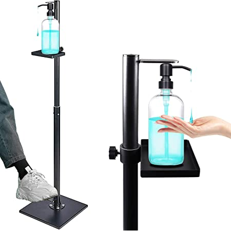 easy install foam cleaner Free standing dispenser station Foot-operated