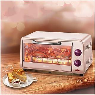 LYQ Mini Horno con Parrilla,Horno de tostadora de Calentamiento rápido de 10 litros,función de cocción múltiple Parrilla eléctrica Hornos de Cocina