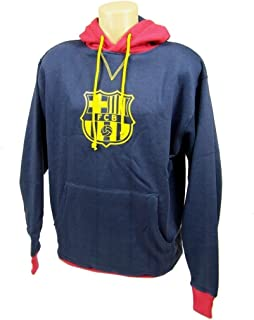 Fc Barcelona Hoodie Pullover Jacket Sweater Hoody FCB Official Authentic 2014 (L)