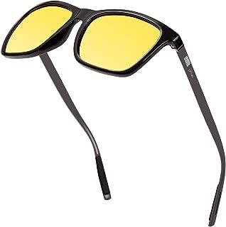Anti Glare Night Driving Polarized Glasses for Men Women HD Day Night Vision Sunglasses