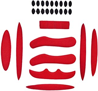 Kit de protection pour casque Kit de mousse de remplacement EVA tactique avec tapis magique pour b/âton magique Tapis Doublure anti-collision universelle Protecteur d/éponge pour moto 19pcs