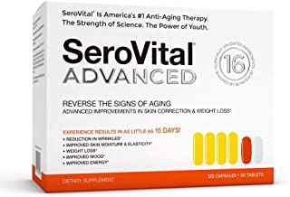 SeroVital ADVANCED for Women - Anti Aging Supplements - Hgh For Women Supplements - Hgh Supplements - Human Growth Hormone Supplement for Skin - Immunity Support - Hgh Boosting Dietary Supplement