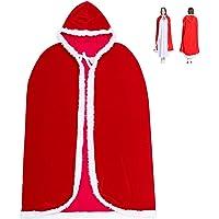 Cosweet Christmas Santa Claus Hooded Cape Cloak