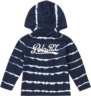 ポロ ラルフローレン キッズ トレーナー フード タイダイ フーディー コットン 2-7歳 Tie-Dye Cotton Hooded T-Shirt BOYS (サイズ:4、カラー:CRUISE NAVY MULTI) Polo Ralph Lauren [並行輸入品]