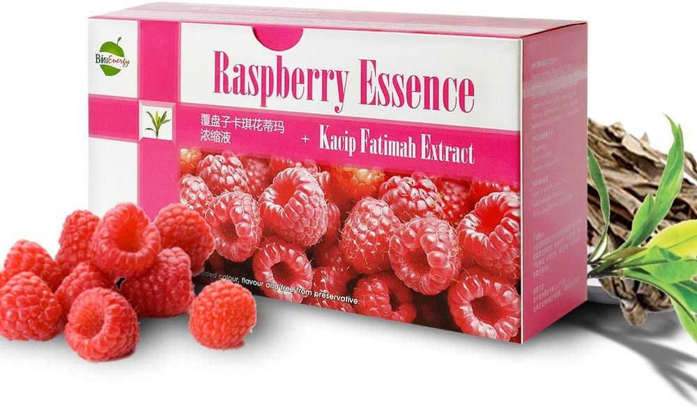 Raspberry Essence with New York Mall Kacip Soldering Fatimah Labisia Extract fo Pumila