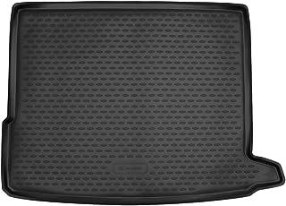 OREALTECH Tapis De Coffre De Voiture pour Mercedes-Benz Klasse GLC X253 C253 2016-2019 Housse Tout Temps Couverture Enti/ère Anti-poussi/ère en Cuir XPE