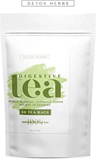 DIGESTIVE TEA - 30 TEA BAGS, Effective Digestive System, Fast and Healthy Digestion, More Effective Absorption of Nutrients, Reduce Bloating, Relieve Heartburn, 100% Natural Tea