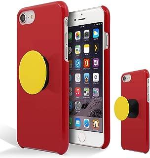 [Breeze-正規品] iPhone ・ スマホケース ポリカーボネイト [RED] ZenFone 4 ZE554KL ケース エイスース ゼンフォン4 ASUS ZenFone4カバー 液晶保護フィルム付 全機種対応 [ZEN4] [ZEN4JGM2007UY]
