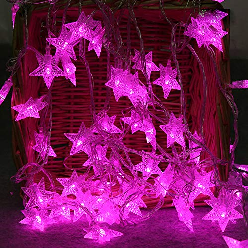 2 Meter 10 Led Licht Lichterkette In Sternform Ultraleichte Leichte Kette Raum Kreative Hängelampe Blinklicht Mehrere Farbe Wohnzimmer Festival Hängende Verzierung FamilienzubehöR