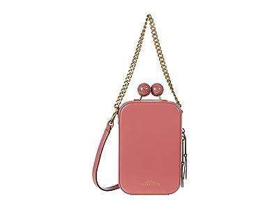Marc Jacobs The Vanity Crossbody (Santa Fe Red) Handbags