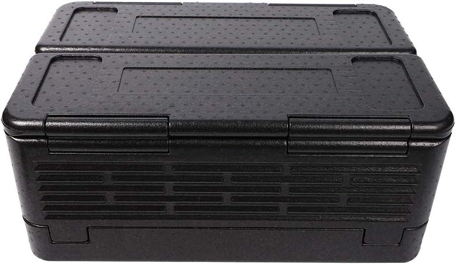 Omabeta Caja de Picnic al Aire Libre, diseño Plegable 60L Calentadores de Alimentos para hostelería Buena Capacidad térmica para Exteriores para Picnic