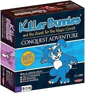 MISC Killer Bunnies Conquest Starter and Booster Card Decks