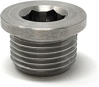 O2 Oxygen Sensor Plug (Stainless Steel) M18 x 1.5 Metric Threading