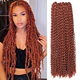 Leeven 2 Packs 24 Inch Copper Red Passion...