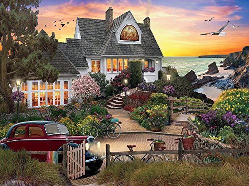 Ceaco Perfect Piece Count Puzzle - David Maclean - Seaside Hill