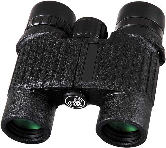 Jumelles pour enfants et adultes Jumelles compactes d'observation des oiseaux de télescope compact, télescope anti-buée imperméable pour le tourisme de plein air voyageant le jeu de chasse pour les co
