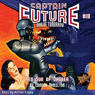 Captain Future #18 Red Sun of Danger cover art