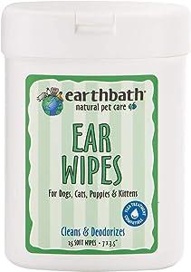 Earthbath Ear Wipes for dogs