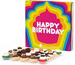 Baked by Melissa Happy Birthday 25 Assorted Bite-Size Cupcakes Gift Box (The O.M.G.F. (Gluten-Free))