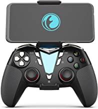 IFYOO FO206 2.4G Wireless & Bluetooth Gaming Controller Gamepad, Compatible with iPhone iPad iOS, Android Phone/Tablet/Smart TV/TV Box, PC Windows 10/8/7/Steam, PS3 - [Included a Bracket], Black