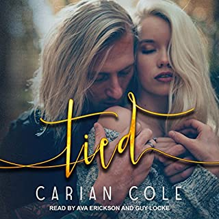 Tied     Devil's Wolves, Book 2              By:                                                                                                                                 Carian Cole                               Narrated by:                                                                                                                                 Ava Erickson,                                                                                        Guy Locke                      Length: 10 hrs and 5 mins     571 ratings     Overall 4.7