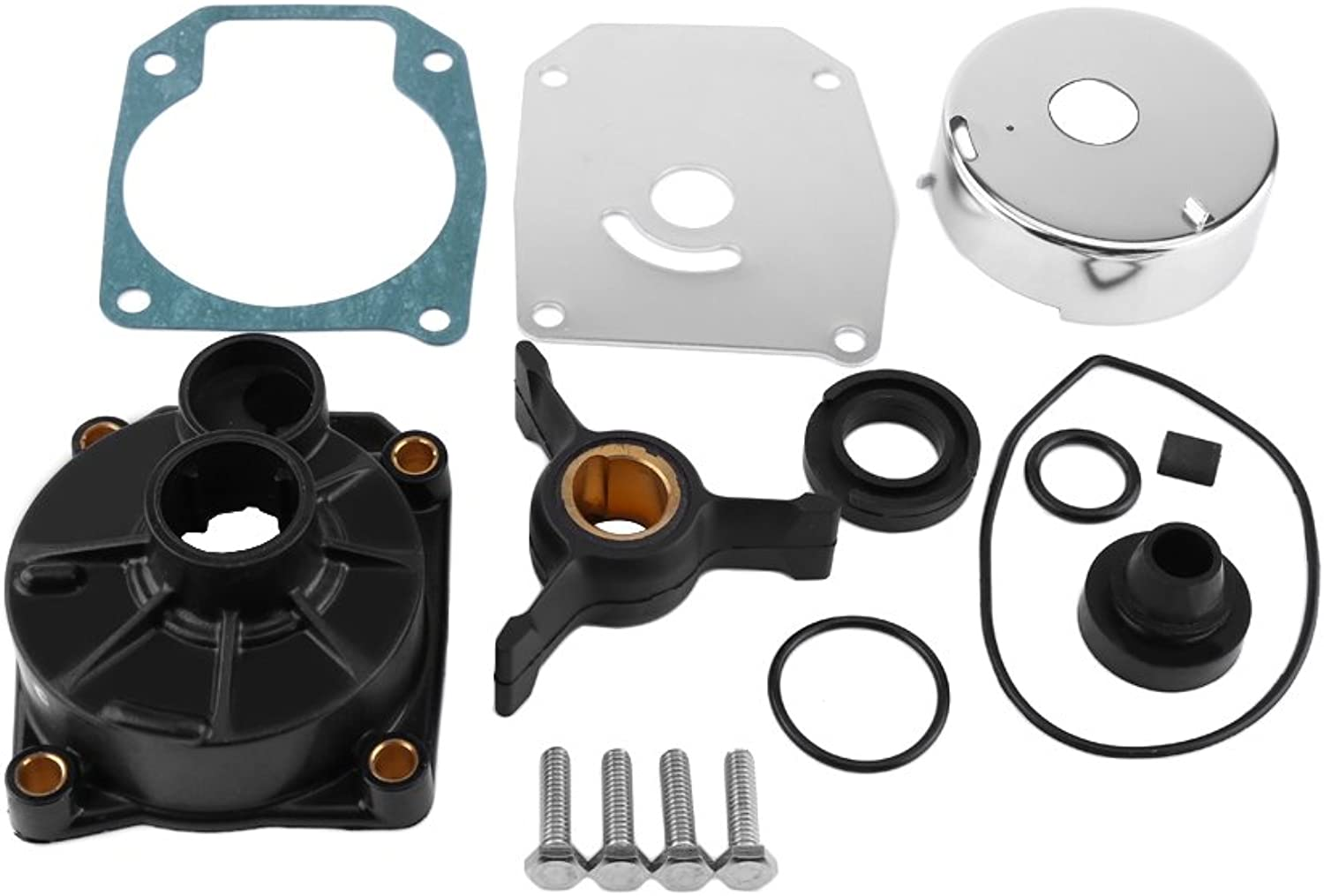 Water Pump Impeller Repair Kit Outboard Water Pump Rebuild Kit for Johnson Evinrude 40 48 50 HP Outboard Motors