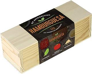 Resetea, Kit autocultivo, Hamburguesa, Lechuga, tomate corazón de buey y mostaza (1)