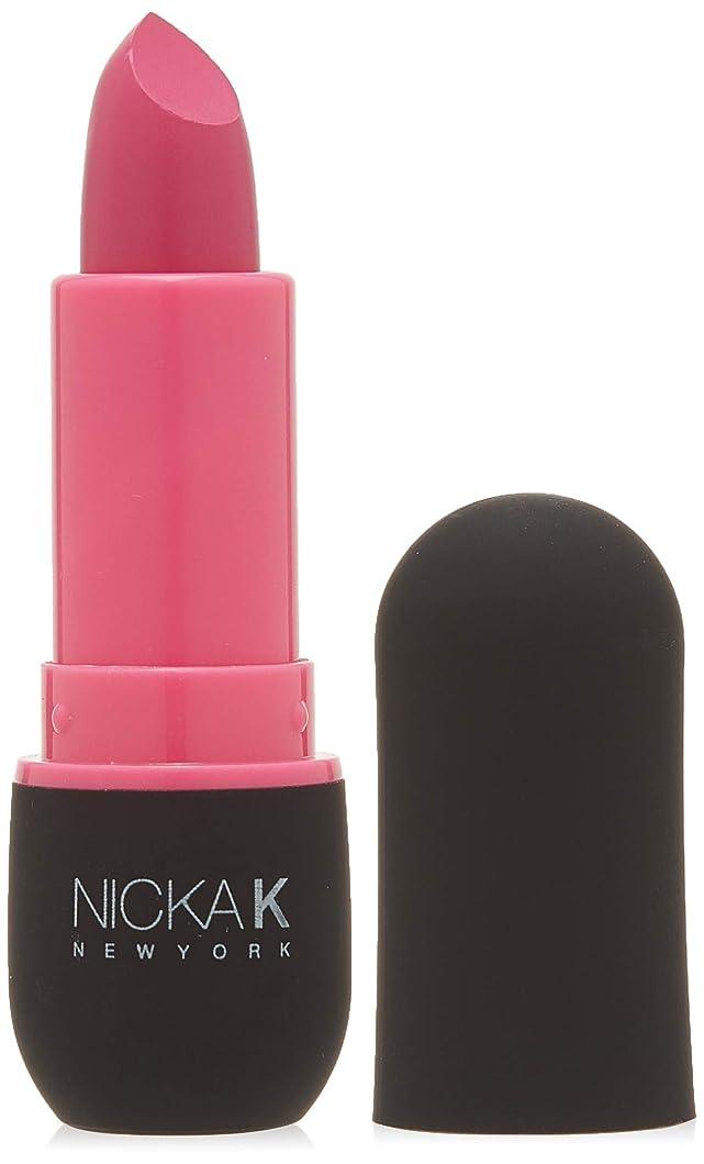 独立した脅威ふさわしいNICKA K Vivid Matte Lipstick - NMS06 Hot Pink (並行輸入品)