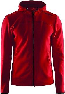 Craft Sportkleding voor heren, vrije tijd, volledige rits, capuchon, ct040/1901692