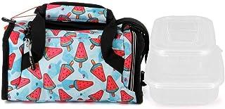 Oh My Pop Oh My Pop! Frech-Mailbox Lunch Bag School Bag, 25 cm;,Multicolour