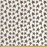 ABAKUHAUS Star Stoff als Meterware, Abstraktes