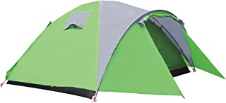 2-Person Dome Tent- Double Layer Waterproof Windproof Easy Set Up Camping Tent with Screened-in Porch for Outdoor Camping Hiking Cold Weather