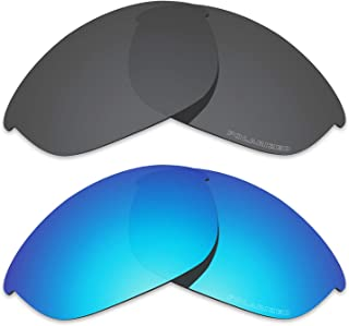 Performance Replacement Lenses for Oakley Half Jacket Polarized Etched - Value Pack