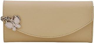 Butterflies Cream Synthetic Women's Wallet (BNS 2320 CRM)