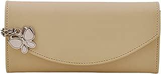 Butterflies Trendy Women's Wallet (Cream) (BNS 2320 CRM)