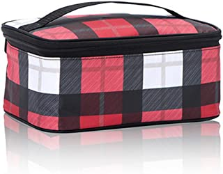 Thirty One Glamour Case in Check Mate - No Monogram - 6121