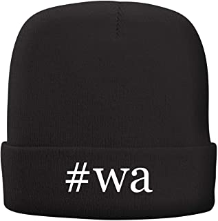 BH Cool Designs #wa - Adult Hashtag Comfortable Fleece Lined Beanie