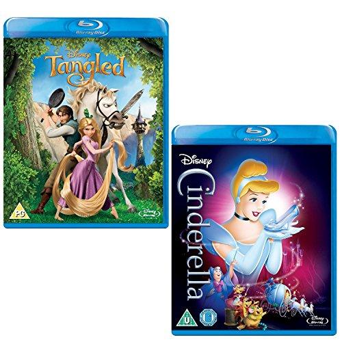 Tangled - Cinderella - Walt Disney 2 Movie Bundling Blu-ray