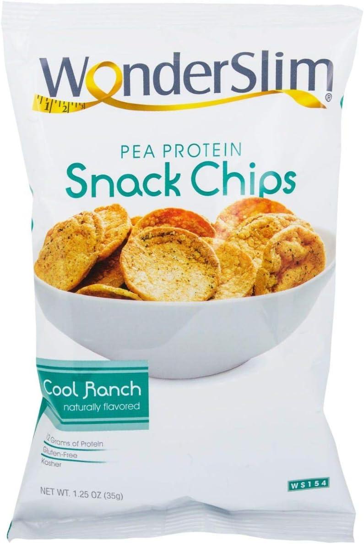 WonderSlim - Patatas fritas con proteína de guisante 10 bags ...