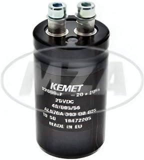 Glättungskondensator  Ø35mm   Kapazität: 22.000 mikroF   Länge: ca. 90mm