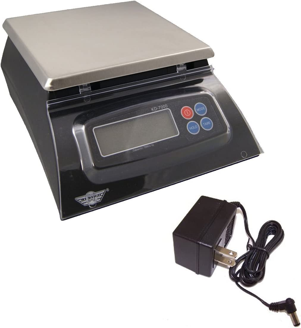 My Weigh KD-7000 Shipping included Kitchen And Craft Digital + Wei Scale Black Rare