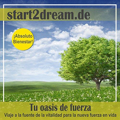 Meditacion Guiada: Tu Oasis de Fuerza [Guided Meditation: Your Oasis of Strength] audiobook cover art