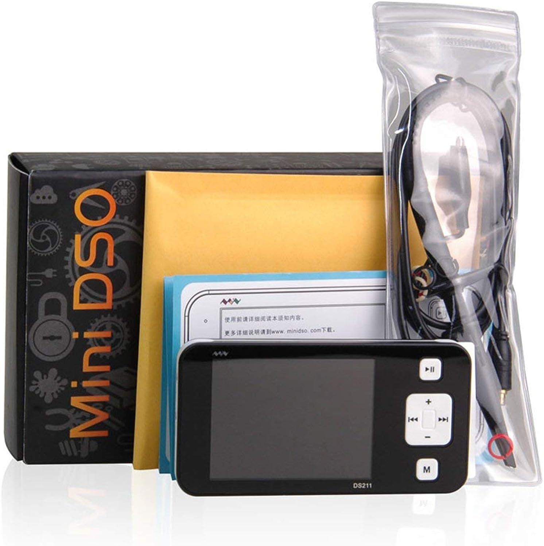 Mini 2.8 Inch TFT LCD Screen Display Oscilloscope USB Portable Digital Storage Oscilloscope 320X240 DS211 with Plastic Shell