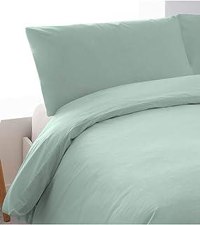 comprar comparacion PimpamTex – Juego de Sábanas 100% Algodón Percal para Cama PL – (160 x 200 cm, Verde Tiffany)